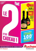 Prospectus Auchan : Le 2ème c'est cadeau !