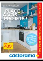 Prospectus Castorama : Place à vos projets!