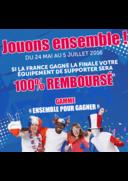 Promos et remises Gifi VILLEMOMBLE : 100% Remboursé si la France gagne l'Euro 2016
