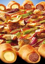 Catalogues et collections Pizza hut : La pizza hot dog est de retour
