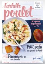 Bons Plans Picard : Pause déjeuner à 4,95€ : salade + pain + financier
