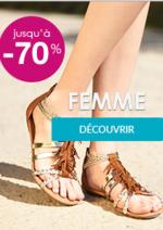 Promos et remises Chaussea : Soldes jusqu'à -70% Femme