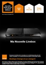 Prospectus Orange : Ma Nouvelle Livebox