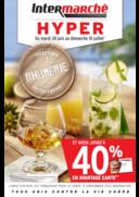 Prospectus Intermarché Hyper REDON : Jusqu'à 40% en avantage carte