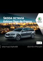 Catalogues et collections Skoda : Les tarfis de la  Skoda Octavia Édition tour de France