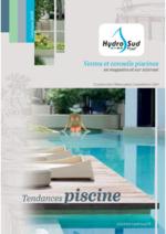 Catalogues et collections Hydrosud : Le catalogue Tendances piscine