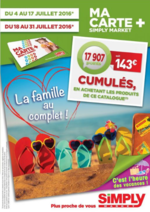 Prospectus Simply Market : La famille au complet !