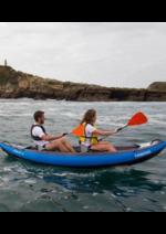 Promos et remises DECATHLON : Offre Kayak gonflable : 399.99€ au lieu de 451,94€
