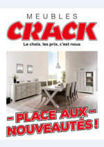 Prospectus Meubles Crack : Place aux nouveautés