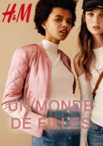 Catalogues et collections H&M : Lookbook femme Un monde de filles
