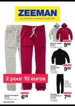 Prospectus Zeeman : 2 pour 10€