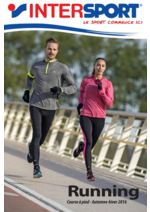 Catalogues et collections Intersport : Running automne-hiver 2016