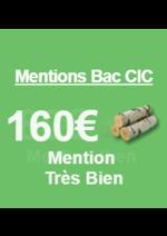 Bons Plans CIC : Découvrez l'offre spéciale Mentions Bac