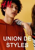 Catalogues et collections H&M : Lookbook femme Union de styles
