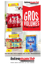 Prospectus Intermarché Contact : Gros volume : en gros, c'est moins cher !