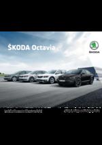 Catalogues et collections Skoda : La gamme Skoda Octavia