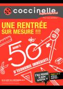 Prospectus Coccinelle Supermarché CHAVILLE : Une rentrée sur mesure !!!