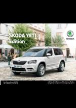 Catalogues et collections Skoda : Craquez pour la Skoda Yeti Edition