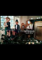 Catalogues et collections H&M : Lookbook kids H&M Studio automne hiver 2016