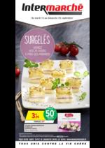 Prospectus Intermarché Hyper : Surgelés variez vos plaisirs à prix gourmands