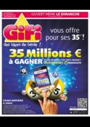 Prospectus Gifi LOCHES : 35 ans 35 Millions € à gagner !