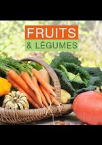 Promos et remises Monoprix : Fruits et légumes