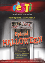 Catalogues et collections Festi : Pour bien préparer Halloween