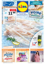 Prospectus Lidl : Foire aux poissons