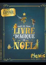 Promos et remises  : LE LIVRE MAGIQUE DE NOËL