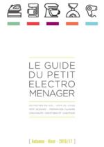 Guides et conseils Pulsat : Le guide du petit éléctroménager Automne-Hiver 2016-2017