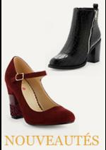 Catalogues et collections La Halle aux Chaussures : Mesdames, les nouveautés sont là