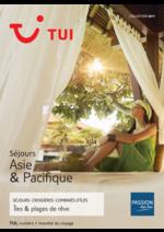Catalogues et collections Nouvelles frontières : Séjours Asie & Pacifique