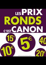 Promos et remises Chauss Expo : Les prix ronds c'est CANON !