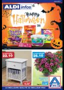 Prospectus Aldi Dorlisheim : Happy Halloween