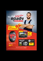 Prospectus Roady : Spécial pro et technique