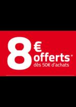 Bons Plans  : 8€ offerts dès 50€ d'achats