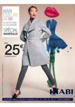Prospectus Kiabi : Spécial manteaux