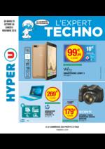 Prospectus Hyper U : L'expert techno