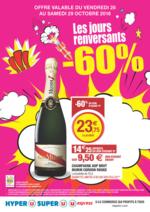 Prospectus Super U : Les jours renversants -60%