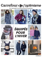 Prospectus Carrefour : Équipés pour l'hiver
