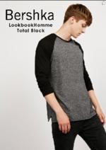 Promos et remises  : Lookbook homme Total black