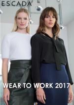 Promoções e descontos  : Lookbook Wear to work 2017