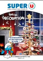 Prospectus Super U : Spécial décoration