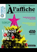 Prospectus E.Leclerc : Un Noël Pop & Arty