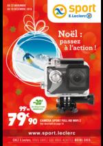 Prospectus E.Leclerc : Noël : passez à l'action !