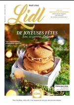 Prospectus Lidl : De joyeuses fêtes avec la gamme Deluxe