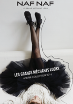 Catalogues et collections NAF NAF : Les grands méchants looks