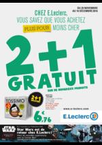 Prospectus E.Leclerc : 2+1 gratuit