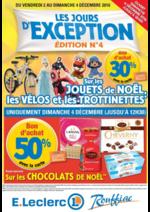 Prospectus E.Leclerc : Les jours d'exception Édition n°4