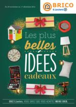 Prospectus Brico E.Leclerc : Les plus belles idées cadeaux
